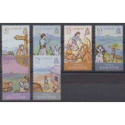 Aurigny (Alderney) - 2013 - Nb 478/483 - Literature