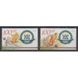 Kazakhstan - 2004 - No 404/405 - Football
