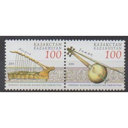 Kazakhstan - 2004 - Nb 413/414 - Music