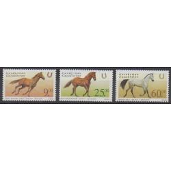 Kazakhstan - 2002 - Nb 304/306 - Horses
