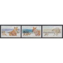 Kazakhstan - 1999 - No 228/230 - Mammifères