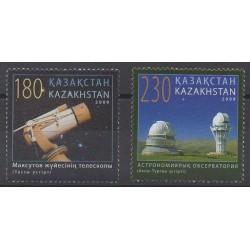 Kazakhstan - 2009 - Nb 555/556 - Astronomy