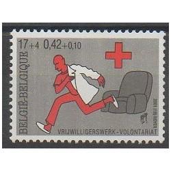 Belgique - 2001 - No 3017 - Santé ou Croix-Rouge