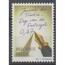 Belgique - 2002 - No 3058 - Philatélie