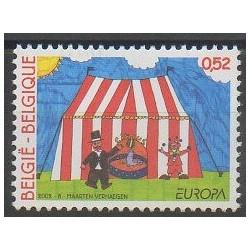 Belgique - 2002 - No 3064 - Cirque - Europa