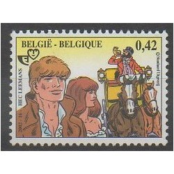 Belgique - 2002 - No 3089 - Philatélie - Dessins Animés - BD