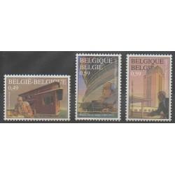 Belgium - 2003 - Nb 3139/3141 - Architecture