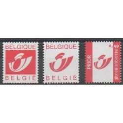 Belgique - 2002 - No 3138B/3138D - Service postal