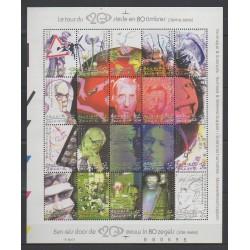 Belgique - 2001 - No 3019/3038 - Sciences et Techniques