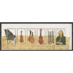 Belgique - 2000 - No C2910 - Musique