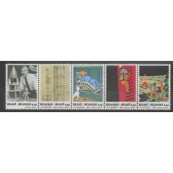 Belgique - 2004 - No 3236/3240 - Hergé