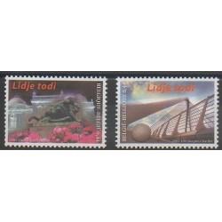 Belgium - 2004 - Nb 3262/3263 - Monuments