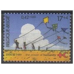 Belgique - 2000 - No 2894 - Santé ou Croix-Rouge