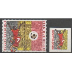 Belgique - 2000 - No 2891/2893 - Football