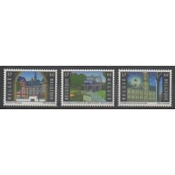 Belgium - 2000 - Nb 2921/2923 - Monuments