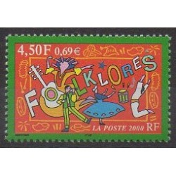France - Poste - 2000 - Nb 3339 - Folklore
