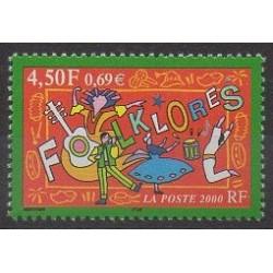 France - Poste - 2000 - No 3339 - Folklore