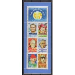 France - Carnets - 2000 - No BC3348 - Célébrités