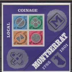 Montserrat - 1975 - Nb BF8 - Coins, Banknotes Or Medals