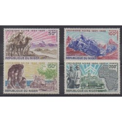 Niger - 1969 - No PA115/PA118 - Histoire
