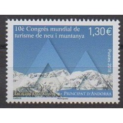 French Andorra - 2018 - Nb 810 - Tourism
