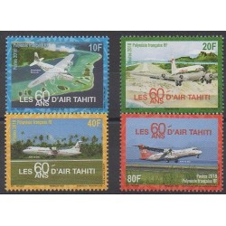 Polynésie - 2018 - No 1176/1179 - Aviation