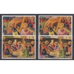 Palestine - 2001 - No 151/154 - Pâques