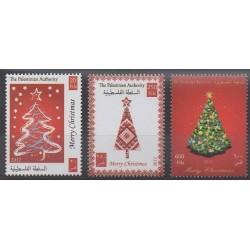Palestine - 2012 - No 252/254 - Noël