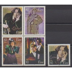 Irlande - 2000 - No 1229/1232 - 1234 - Littérature