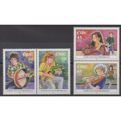 Ireland - 2001 - Nb 1325/1328 - Music