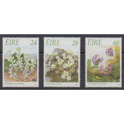 Irlande - 1988 - No 657/659 - Fleurs