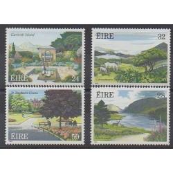 Irlande - 1989 - No 674/677 - Parcs et jardins