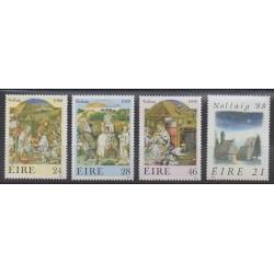 Irlande - 1988 - No 668/671 - Noël