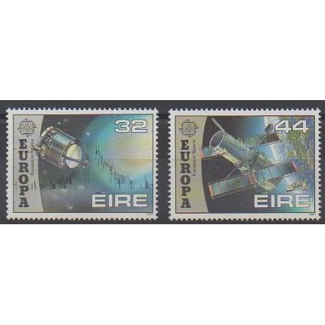 Irlande - 1991 - No 762/763 - Espace - Europa