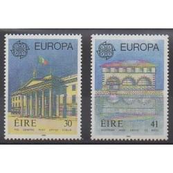 Irlande - 1990 - No 721/722 - Service postal - Europa