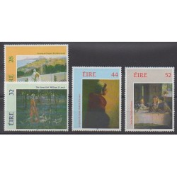 Ireland - 1993 - Nb 820/823 - Paintings