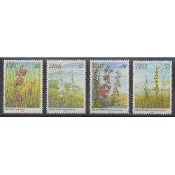 Irlande - 1993 - No 824/827 - Fleurs