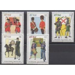 Irlande - 1995 - No 901/905 - Histoire militaire