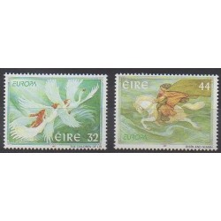 Ireland - 1997 - Nb 1003/1004 - Literature - Europa