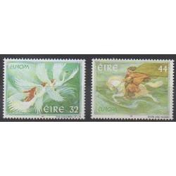 Irlande - 1997 - No 1003/1004 - Littérature - Europa