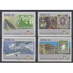 Irlande - 1997 - No 1018/1020 - 1036 - Timbres sur timbres - Histoire