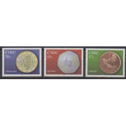Ireland - 2002 - Nb 1390/1392 - Coins, Banknotes Or Medals