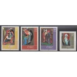 Irlande - 2001 - No 1385/1388 - Noël