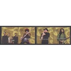 Irlande - 2002 - No 1469/1472 - Musique