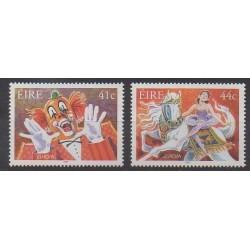 Irlande - 2002 - No 1439A/1439B - Cirque - Europa