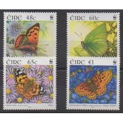 Irlande - 2005 - No 1656/1659 - Insectes - Espèces menacées - WWF