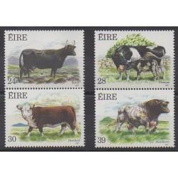 Irlande - 1987 - No 628/631 - Mammifères