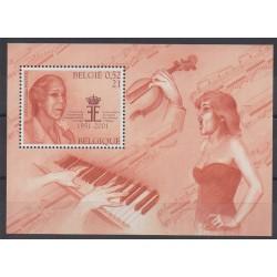 Belgique - 2001 - No BF86 - Musique - Littérature