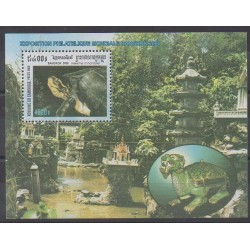 Cambodia - 2000 - Nb BF162 - Reptils - Philately