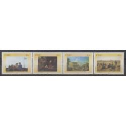 Irlande - 2002 - No 1458/1461 - Peinture
